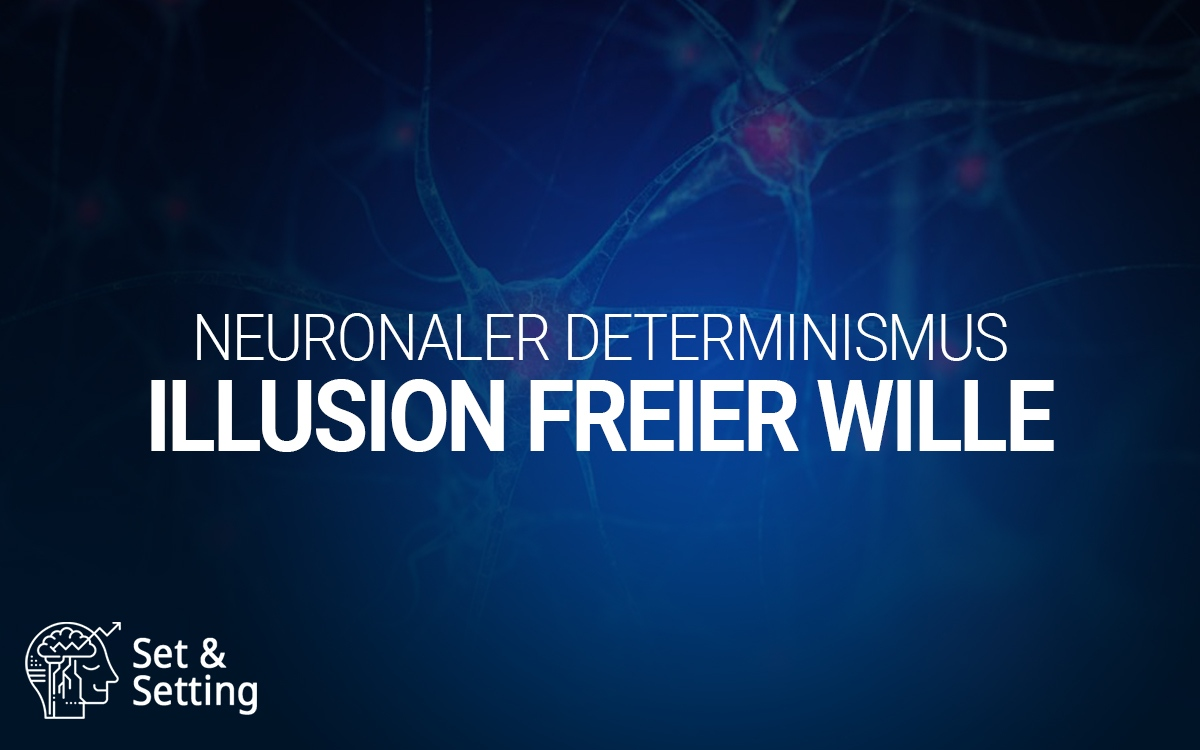 Neuronaler Determinismus freier Wille Illusion