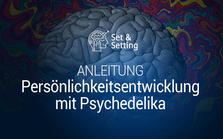 persönlichkeitsentwicklung mit psychedelika mit psychedelischen drogen substanzen moleküle anleitung tutorial guide