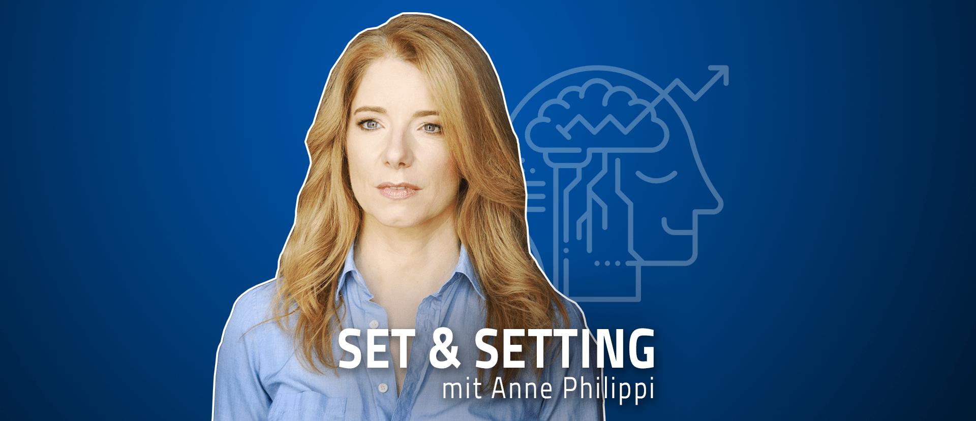 """#05 """"Psychotherapie allein reicht nicht mehr!"""" Anne Philippi über Psychedelika als modernes Zeitersparnis und wie Psilocybin ihr Leben veränderte"""