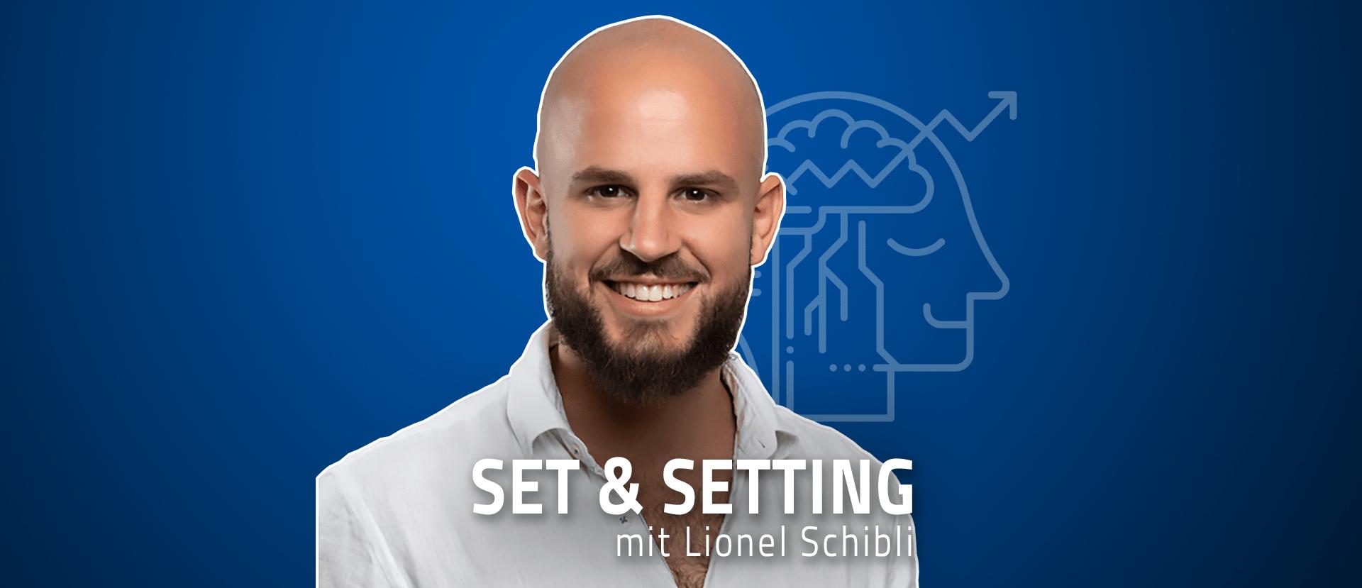 """#06 """"Sterben kann man lernen"""" – Lionel Schibli über Ayahuasca auf dem Sofa, Pseudo-Spiritualität und Bibelzitate"""