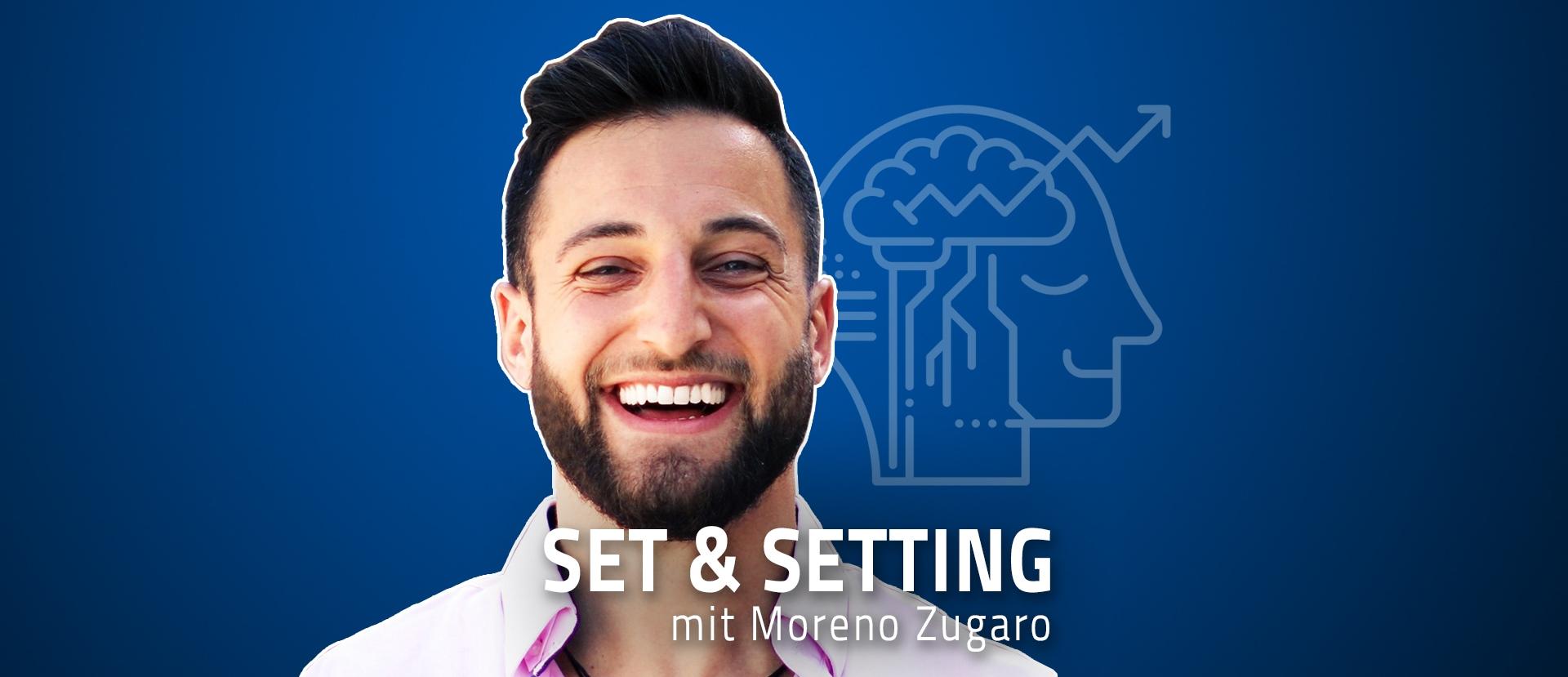 Moreno Zugaro über Männer und Gefühle - Set & Setting Podcast
