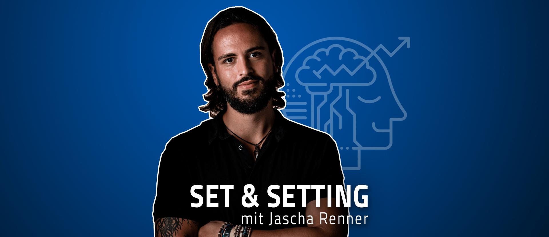 """#24 """"Psychedelika lösen keine Probleme!"""" – Jascha über innere Veränderung, sein Verständnis von Depressionen, die psychedelische Integration und den """"freien"""" Willen"""