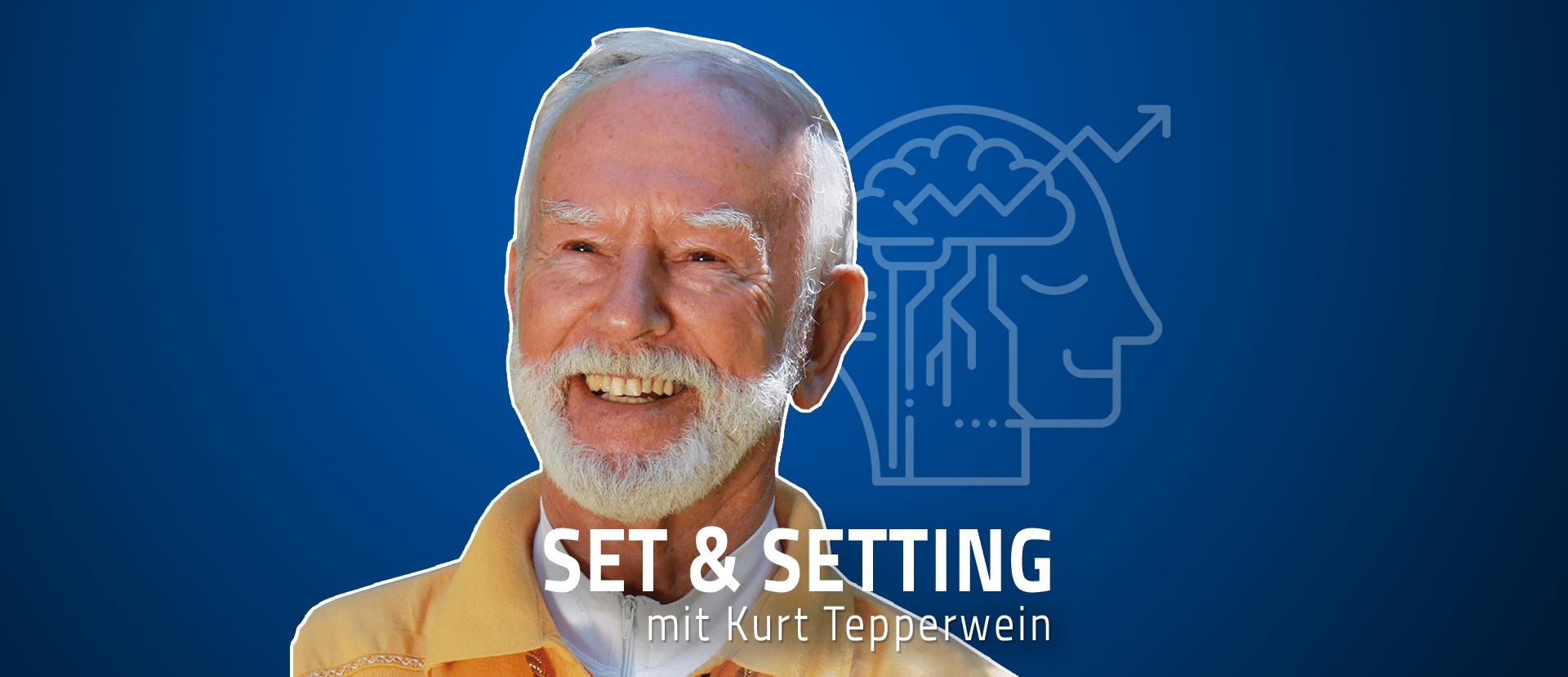 """#30 """"Die meisten Menschen schlafen noch"""" – Kurt Tepperwein über das erwachte Bewusstsein, Realität und Wirklichkeit und den Stecker der Mensch-Identifikation"""