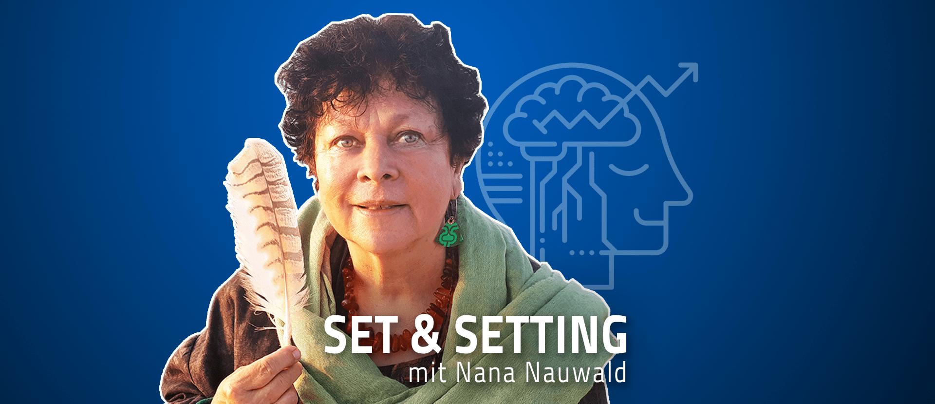 """#39 """"Ich könnte meine Bilder auch singen"""" – Nana Nauwald über ihre visionäre Kunst, das Leben bei den Shipibo und den Zugang zum allumfassenden Bewusstsein"""