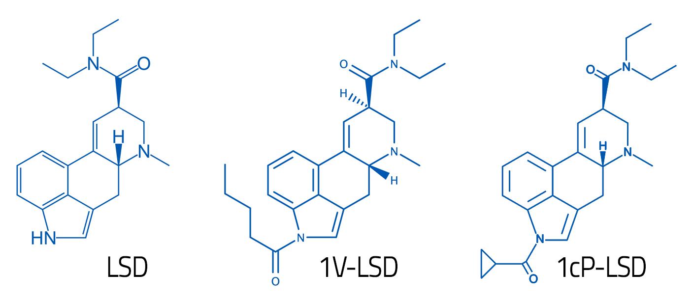 1cp lsd vs lsd vs 1v-lsd vergleich moleküle set und setting set and setting prodrug moleculse comparison compare