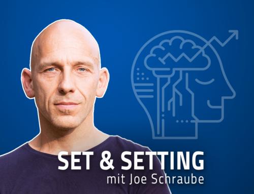 """#58 """"Wenn ich das jetzt runter schluck, dann war's das!"""" – Joe Schraube über High-Dosing mit Psychedelika, die richtige Dosierung, Geburtserfahrungen und den Tod"""