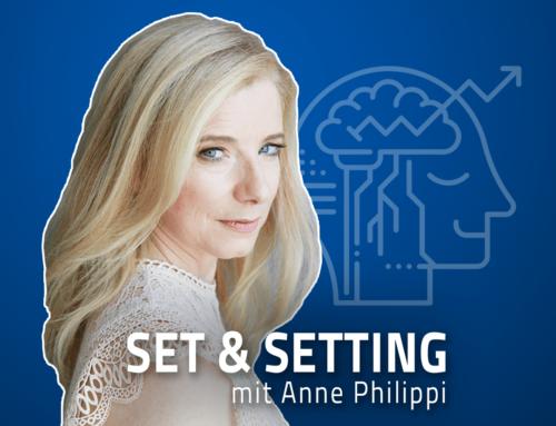 """#59 """"Therapie ist nicht einfach nur Tabletten nehmen!"""" – Anne Philippi über die Zukunft von Psychedelika in der Psychotherapie und eigene Erfahrungen mit LSD und Ketamin begleitet durch Therapeuten"""